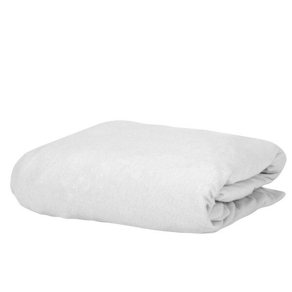 George 100% Cotton Jersey Fitted Sheet by Charlton Home